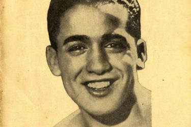 Jewish boxer and flyweight world champion Victor Young Perez, Boxe Magazine 1933