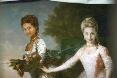Film still from Belle, directed by Amma Asante, 2013