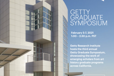 Getty Graduate Symposium