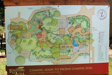 Kingdom of Asia Fresno Map