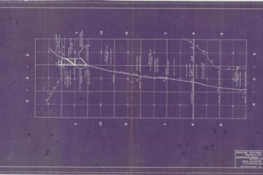 Sinclair Refining Company Products Pipe Line, 1948 (Courtesy National Archives College Park, Cartographic Division)