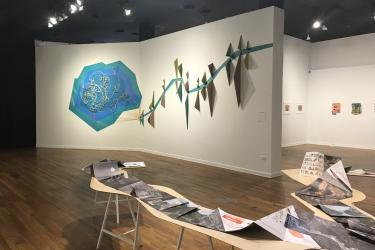 Exhibition Young Latinx Artists 24 at the Mexic-Arte Museum, Austin, TX