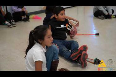 Arts Council Santa Cruz - Artist Teacher Partnership with Saki