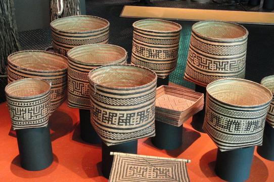 Wayana Aparai Baskets