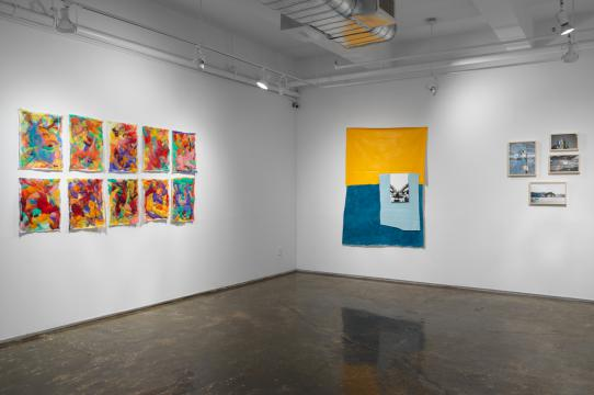 Install shot of Another Gesture, Um Outro Gesto, Eine Weitere Geste at A.I.R. Gallery, NY (August 2017). Photo Credit: A.I.R. Gallery.