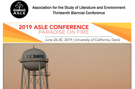 2019 ASLE Conference Banner