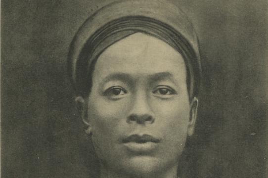"""Series number 3331 (""""Ba-Bieu, féroce lieutenant du Dề-Tham""""), postcard by the studio of Pierre Dieulefils, Hanoi, Vietnam, ca. 1909"""