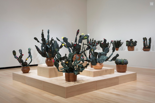 "John Bentham. Exhibition installation view of ""Margarita Cabrera: Space in Between,"" 2018. Courtesy of the Wellin Museum of Art Hamilton College."