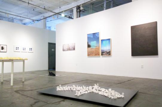 Photo of the installation of LAND+BODY=Escape at NARS Foundation, NY (May 2018). Photo Credit: Elisa Gutierrez/NARS Foundation.