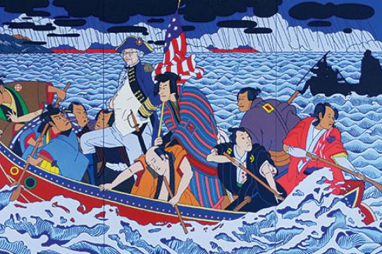 Shimomura Crossing The Delaware